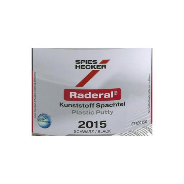 Raderal Kunstoff Spachtel 2015 Schwarz
